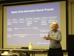 Dr. Carol Kuhlthau telling the story of the ISP - CiSSL 2014