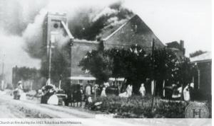 Mt Zion Church Burning